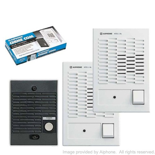 AiPhone Chime Com C-123L/W Dual Master Set