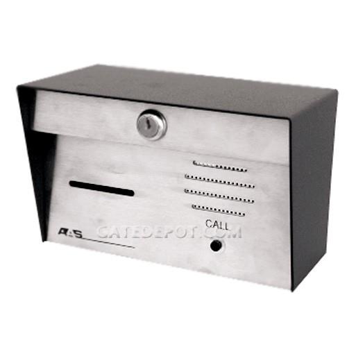 AAS 11-024i Stand-Alone Mechanical Card Reader w / Intercom