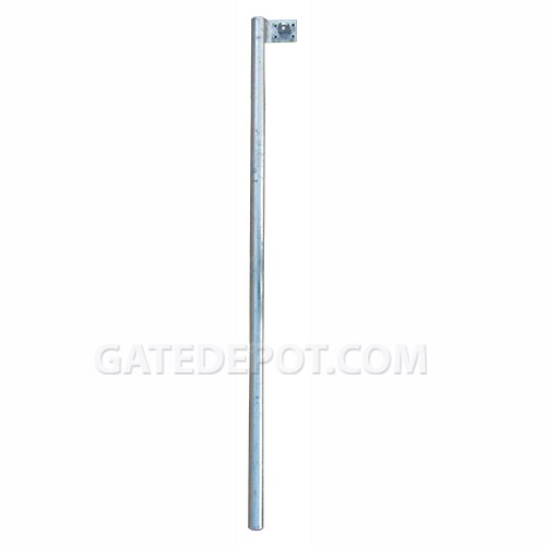 DuraGate DGT-BL Steel Barrier Gate Locking Post