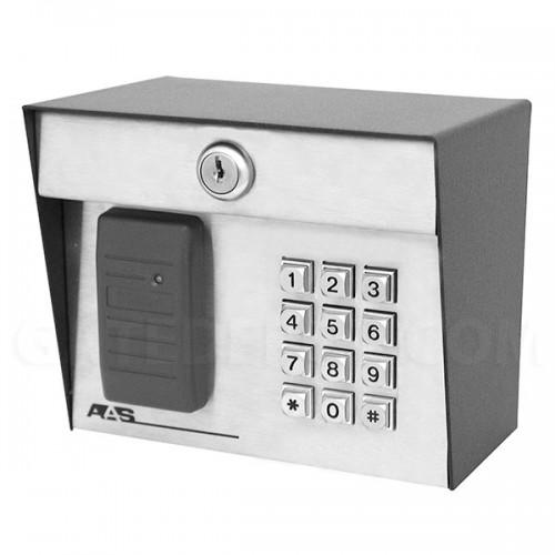 AAS RemotePro CR 23-006kp Wiegand Card Reader w/ Keypad