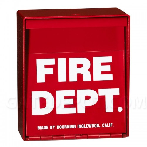 DoorKing 1400-080 Fire Department Lock Box - Padlock