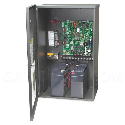 DoorKing 4302-114 Solar Control Box w/ two 18 Ah batteries
