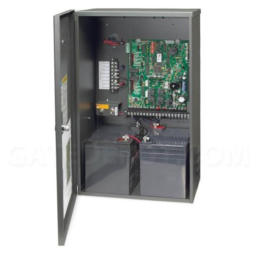 DoorKing 4302-115 Solar Control Box w/ two 35 Ah batteries