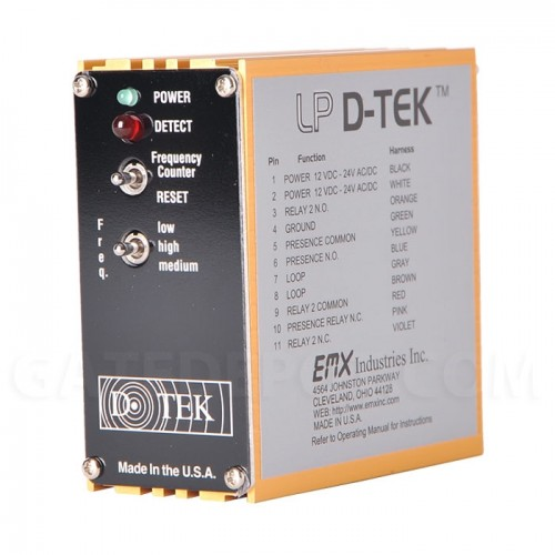 EMX LP-DTEK Inductive Loop Detector - Low Power