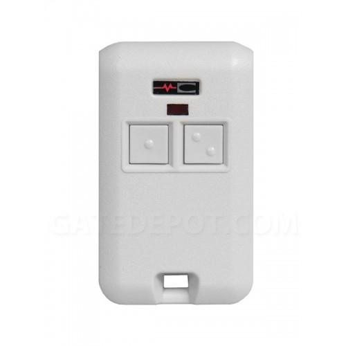 Linear MultiCode 308301 2-Channel Key Ring Transmitter
