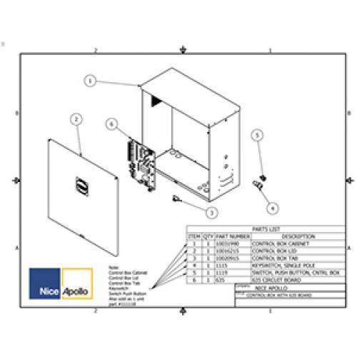 Replacement Parts Diagram - Apollo 1500-1600 Parts Diagram