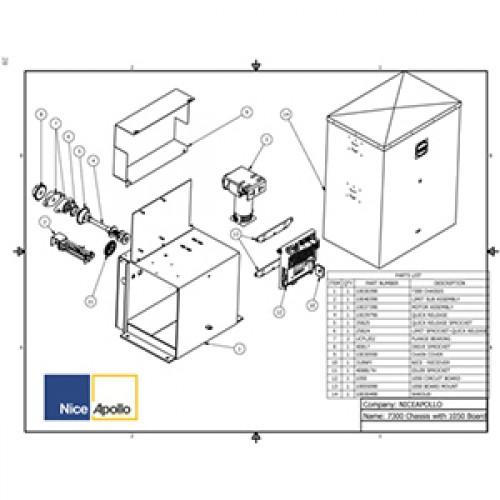 Replacement Parts Diagram - Apollo 7300 Parts Diagram