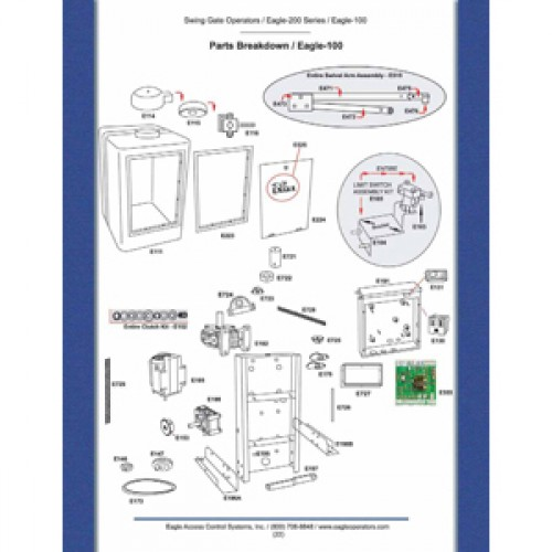Replacement Parts Diagram - Eagle 100 Parts Diagram