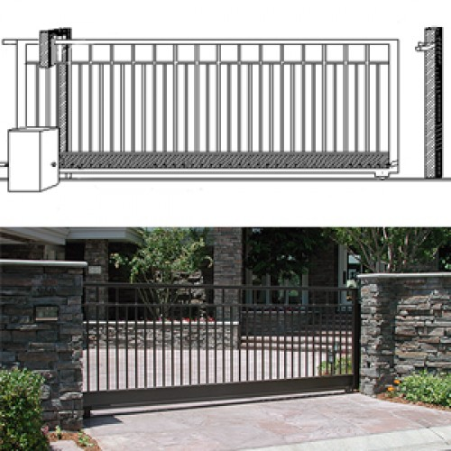 Overview of Driveway Slide Gates