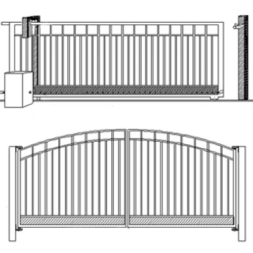 Selecting Your Driveway Gate - Swing or Slide?