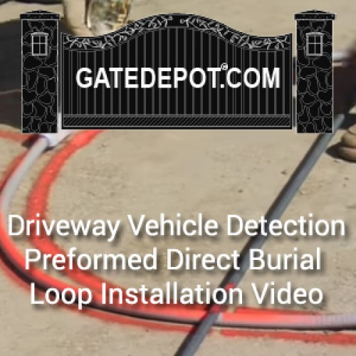 Video - Driveway Vehicle Detection Using Preformed Direct Burial Loops