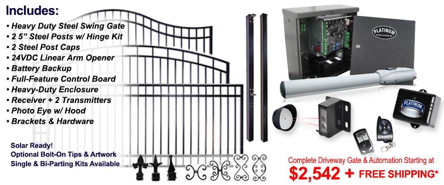 Gate Depot Automatic Gate Opener Kits