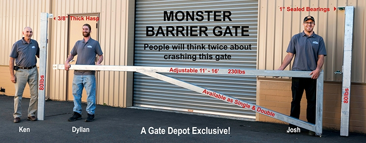 Electric Gate Suppliers - Automatic Driveway Gates   Gate Depot