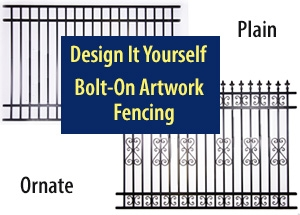 Fencing Bolt-On Scroll Work