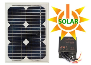 Solar Panels & Power for Driveway Gates