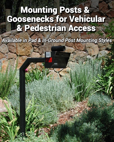 Access Control Mounting Goosenecks