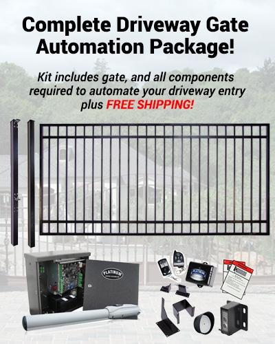 Swing Driveway Gate Automation Kit