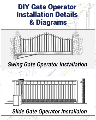 Driveway Gate Automation Help Diagrams