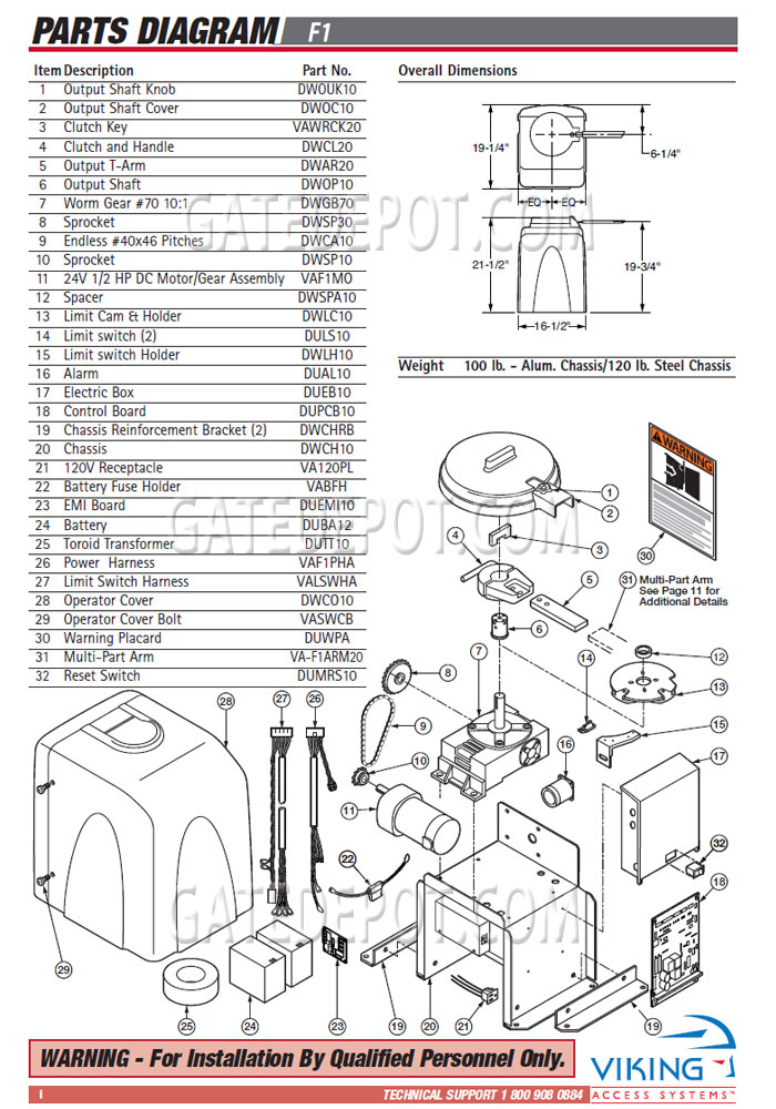 replacement parts diagram - viking access f-1 (1st gen ... viking wiring diagram viking refrigerator wiring diagram